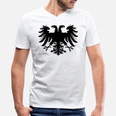 Roman Holy Roman Empire Eagle - Men's V-Neck T-Shirt by Canvas