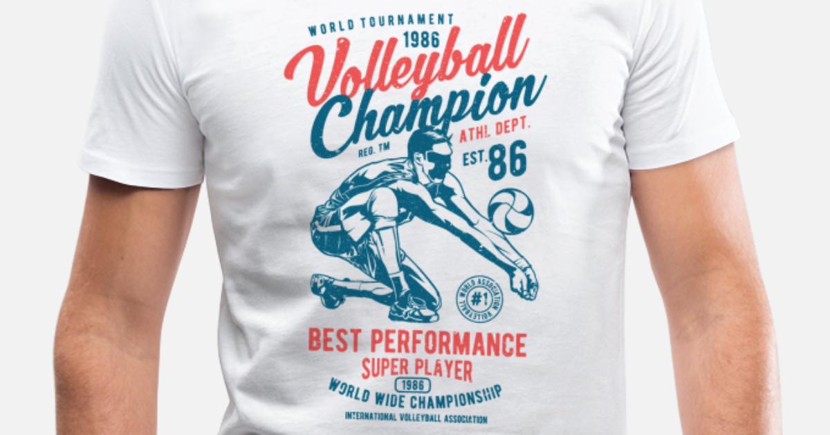 e69f752a Volleyball Men's V-Neck T-Shirt | Spreadshirt