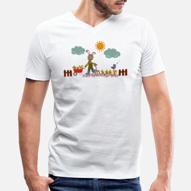 Harvest Harvest time - Men's V-Neck T-Shirt