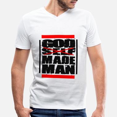 Man God Made Man - Men's V-Neck T-Shirt