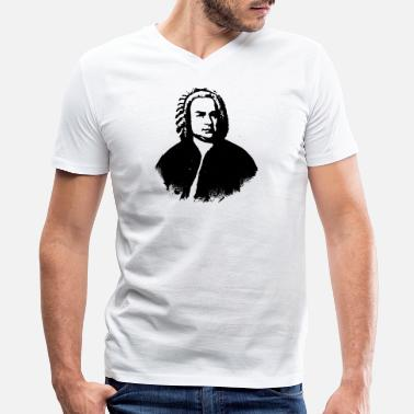 Bach Bach - Men's V-Neck T-Shirt by Canvas