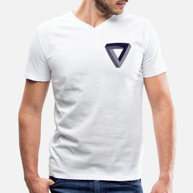 Isometric Isometric - Men's V-Neck T-Shirt by Canvas