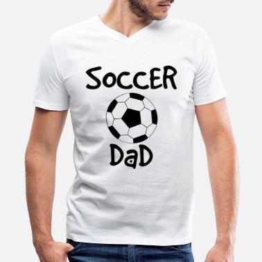 Fathers Sex Soccer father - Men's V-Neck T-Shirt by Canvas