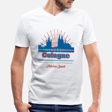 Cologne Cologne - Men's V-Neck T-Shirt