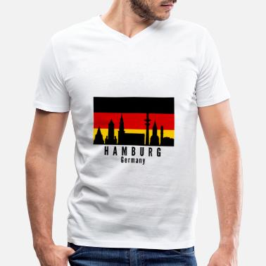 Germany Hamburg Germany - Men's V-Neck T-Shirt