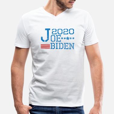 Bundestag Election Joe biden 2020 for president election retro - Men's V-Neck T-Shirt