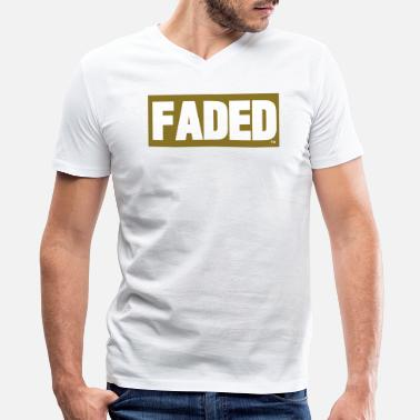 Fade FADED - Men's V-Neck T-Shirt