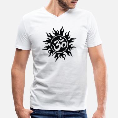 Om OM - Men's V-Neck T-Shirt