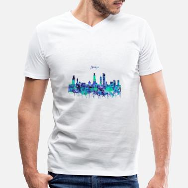 Chicago Chicago, Chicago Illinois - Men's V-Neck T-Shirt