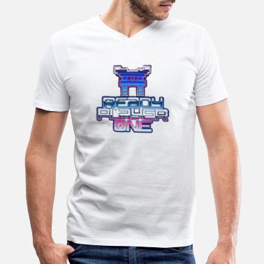 Ready Player One Ready Player One - Men's V-Neck T-Shirt