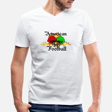 Bdsm Football Funny sayings,Fun sayings, cool sayings,Football, - Men's V-Neck T-Shirt by Canvas
