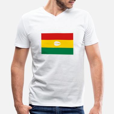 Bolivian Flag Bolivian flag for proud santero - Men's V-Neck