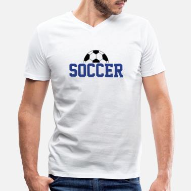 Soccer Ball Soccer Ball, Soccer, Jersey - Men's V-Neck T-Shirt