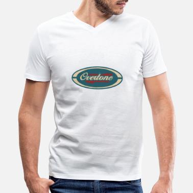 Overtone old overton - Men's V-Neck T-Shirt by Canvas