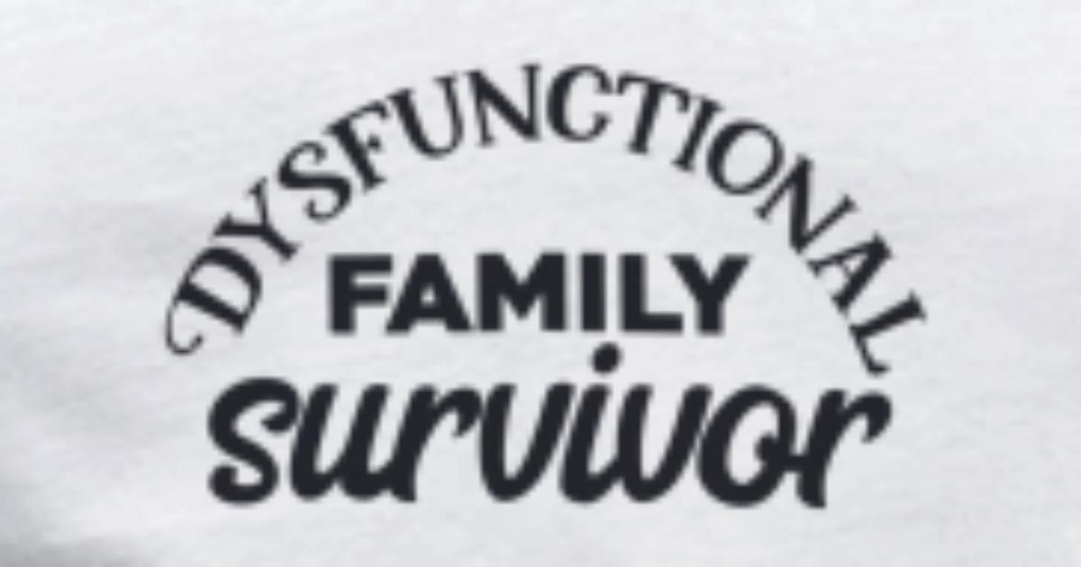 Dysfunctional family survivor funny quote gift Men\'s V-Neck T-Shirt |  Spreadshirt