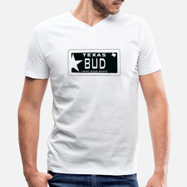 Texas Bud - Men's V-Neck T-Shirt
