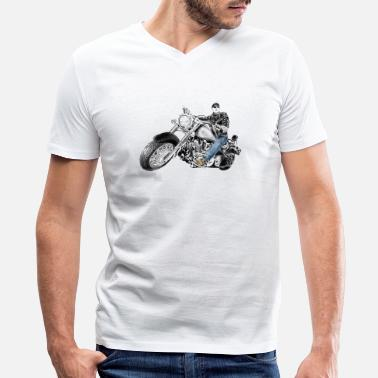 Chopper chopper - Men's V-Neck T-Shirt
