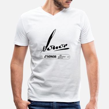 Sonor sonor vintage series - Men's V-Neck T-Shirt by Canvas