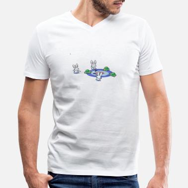 Winter Sports Winter Sports - Men's V-Neck T-Shirt