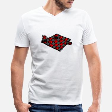 Checkers checkers - Men's V-Neck T-Shirt