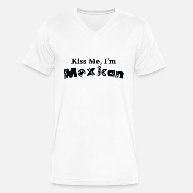 Kiss Me Im Mexican Dark Muscle Shirt