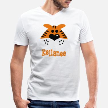 Cute Tiger Cute Tiger - Men's V-Neck T-Shirt