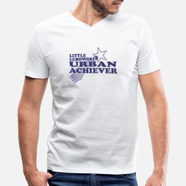 Urban Lebowski Urban Achiever - Men's V-Neck T-Shirt