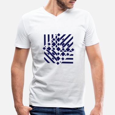 Abstract an abstract graphic tattoo pattern - Men's V-Neck T-Shirt