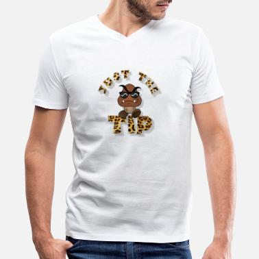 Goomba Just the TIP Cheater - Men's V-Neck T-Shirt