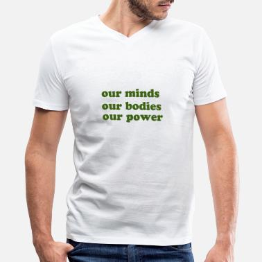 Our Block our minds - Men's V-Neck T-Shirt