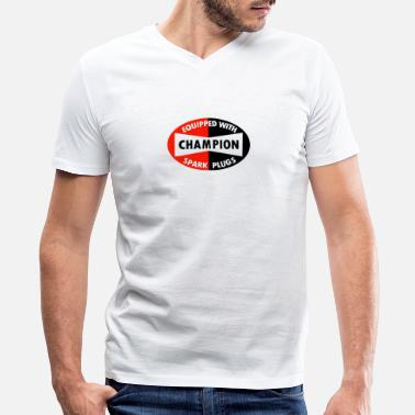 Plug Champion merch - Men's V-Neck T-Shirt
