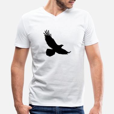 Eagles-birds Eagle Bird - Men's V-Neck T-Shirt by Canvas