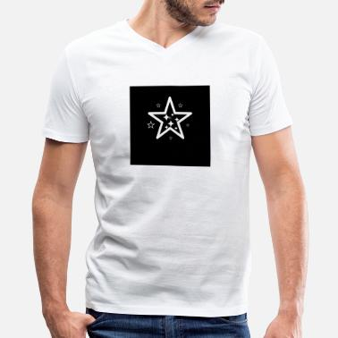 Glamour Shapes - Men's V-Neck T-Shirt