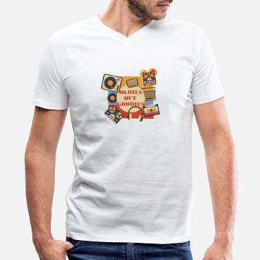 The Goodies Oldies but Goodies - Men's V-Neck T-Shirt by Canvas