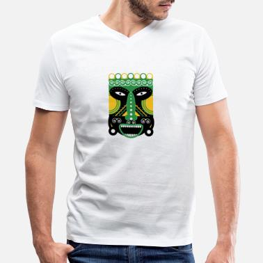 Ritual ritual mask - Men's V-Neck T-Shirt