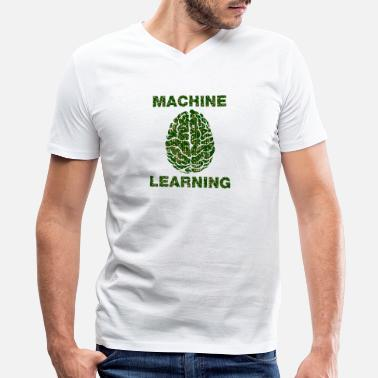 Learning Machine Learning - Men's V-Neck T-Shirt
