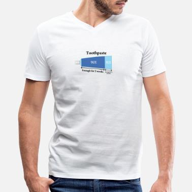 Toothpaste Toothpaste - Men's V-Neck T-Shirt