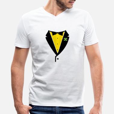 Like Tuxedo Jamaican Tuxedo - Men's V-Neck T-Shirt