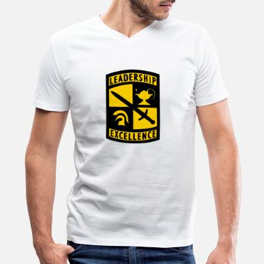 Army Reserve US Army ROTC Reserve Officer Training Corps - Men's V-Neck T-Shirt