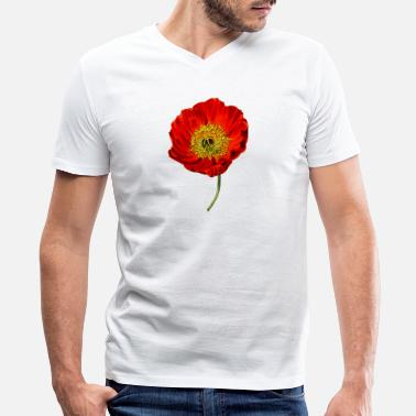 Flower Design Flower designs - Men's V-Neck T-Shirt by Canvas