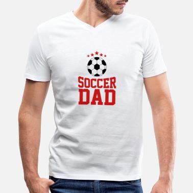 Soccer Ball Soccer Dad , Soccer Ball - Men's V-Neck T-Shirt