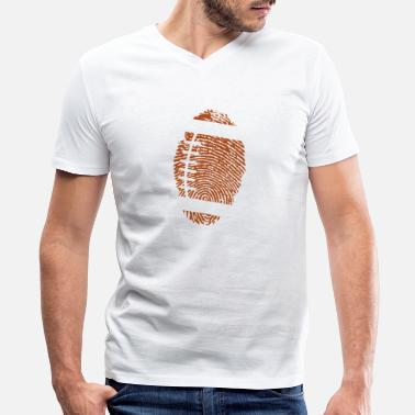 American Football American Football DNA - Men's V-Neck T-Shirt