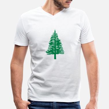 Island Norfolk Island Pine - Men's V-Neck T-Shirt
