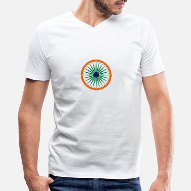 India chakra - Men's V-Neck T-Shirt