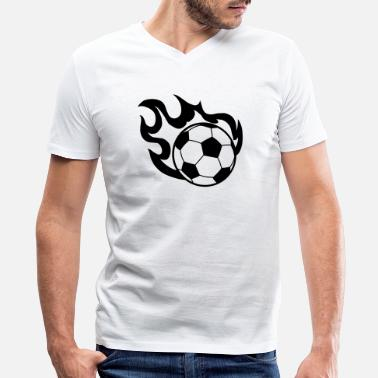 Flameball - Men's V-Neck T-Shirt