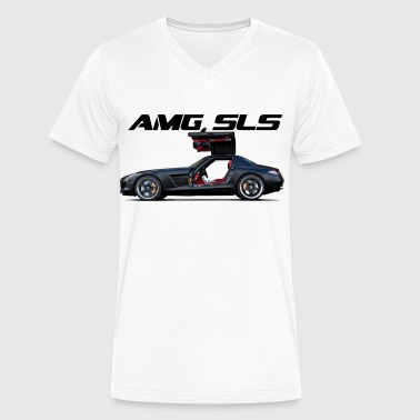 AMG SLS - Men's V-Neck T-Shirt by Canvas