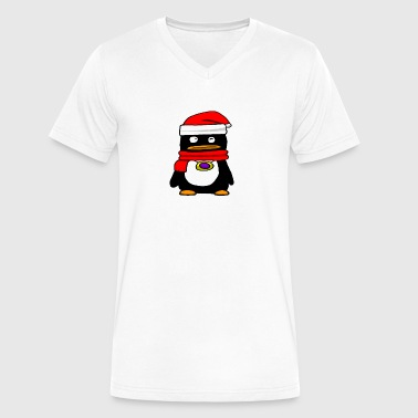 J1mmy's Official Penguin - Men's V-Neck T-Shirt by Canvas