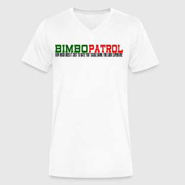 BIMBO PATROL - Men's V-Neck T-Shirt by Canvas