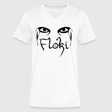 Floki - Men's V-Neck T-Shirt by Canvas