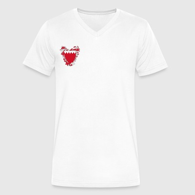 BH Logo - Men's V-Neck T-Shirt by Canvas